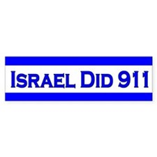 Israel Did 911 Car Sticker