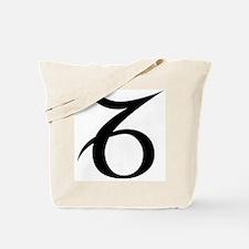 Capricorn Symbol Tote Bag