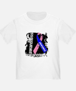 Grunge Male Breast Cancer T