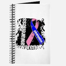 Grunge Male Breast Cancer Journal