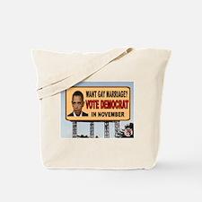 OBAMA GAY Tote Bag