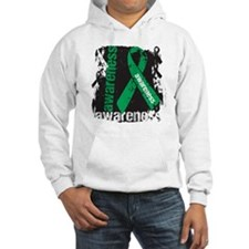 Grunge Liver Cancer Hoodie