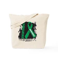 Grunge Liver Cancer Tote Bag