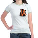 Grunge Leukemia Jr. Ringer T-Shirt