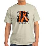 Grunge Leukemia Light T-Shirt