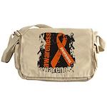 Grunge Leukemia Messenger Bag