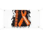 Grunge Leukemia Banner