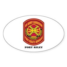 Fort Riley with Text Decal