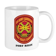 Fort Riley with Text Mug