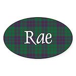 Tartan - Rae Sticker (Oval 10 pk)