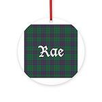 Tartan - Rae Ornament (Round)