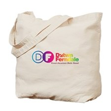Downtown Ferndale Rainbow Logo Tote Bag
