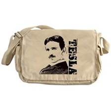 Tesla Fan Messenger Bag