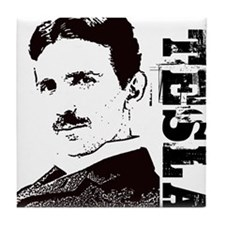 Tesla Fan Tile Coaster