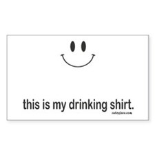 drinking shirt Decal