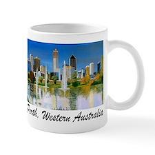 Perth Skyline Painting Mug