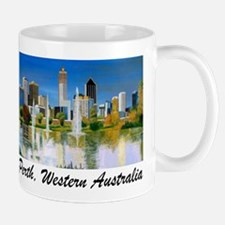 Perth Skyline Painting Mug