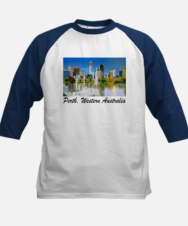 Perth Skyline Painting Tee