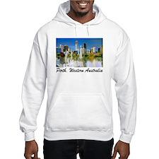 Perth Skyline Painting Hoodie