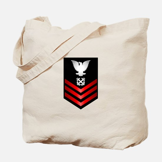 Navy Boatswain's Mate First Class Tote Bag