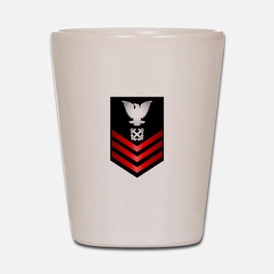 Navy Boatswain's Mate First Class Shot Glass