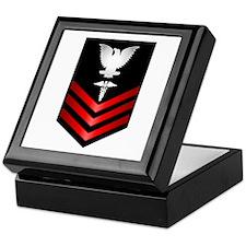 Navy Corpsman First Class Keepsake Box
