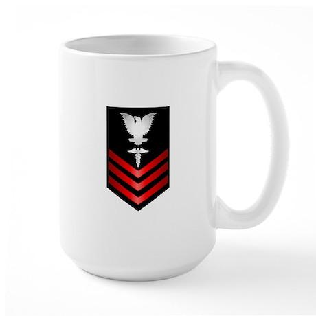 Navy Corpsman First Class Large Mug
