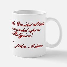 John Adams Quote Mug