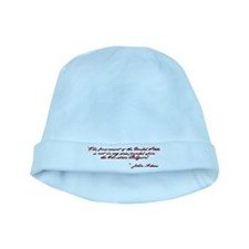 John Adams Quote baby hat