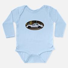 NOPD Long Sleeve Infant Bodysuit
