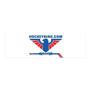 hockeybird_vintage.jpg 20x6 Wall Decal