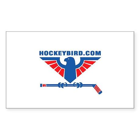 hockeybird_vintage.jpg Sticker (Rectangle)