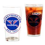 hockeybird_vintage.jpg Drinking Glass