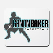 Ganon Baker Basketball Classic Logo Mousepad
