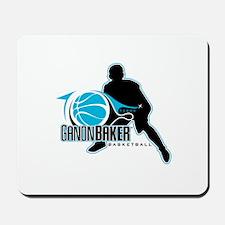 Ganon Baker Basketball 10th Anniversary Logo Mouse