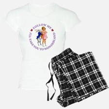 ALICE & THE WHITE RABBIT Pajamas