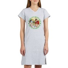WE'RE ALL MAD - RENE CLOKE Women's Nightshirt