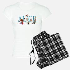 ALICE & FRIENDS IN WONDERLA Pajamas