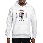 E Whippet N Paws Hooded Sweatshirt