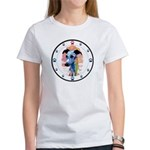 E Whippet N Paws Women's T-Shirt
