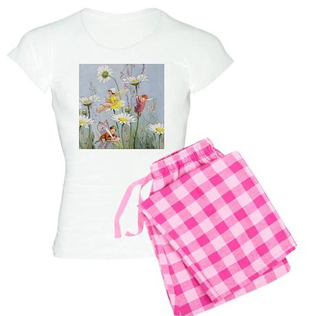 FAIRIES_Moon Daisies_SQ.png Women's Light Pajamas