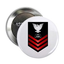 """Navy Culinary Specialist First Class 2.25"""" Button"""