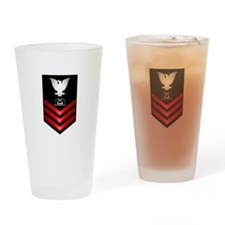 Navy Culinary Specialist First Class Drinking Glas