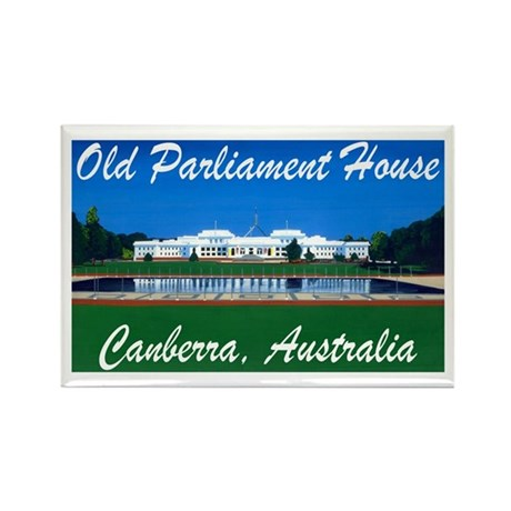 Old Parliament House Rectangle Magnet
