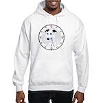 W Whippet N Paws Hooded Sweatshirt
