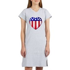 MY AMERICAN HEART Women's Nightshirt