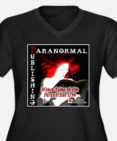 Paranormal Publishing log Women's Plus Size V-Neck