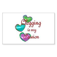 Clogging Passion Decal