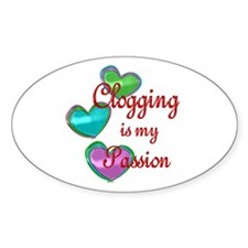 Clogging Passion Decal