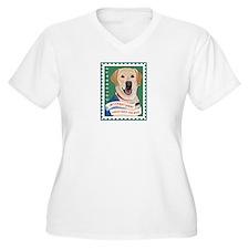 Women's Plus Size IADW V-Neck T-Shirt